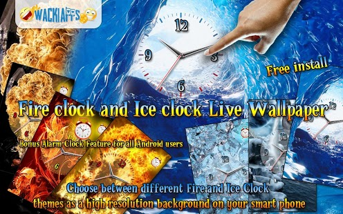 Fire Clock and Ice Clock LWP Feature