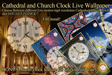 Choose Your Church Clock LWP Feature