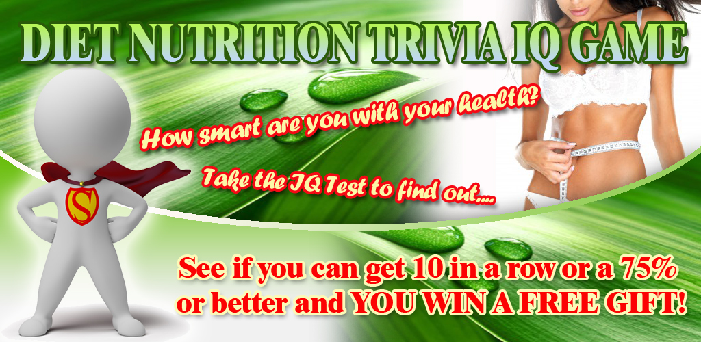 Diet Nutrition Trivia IQ Game Feature