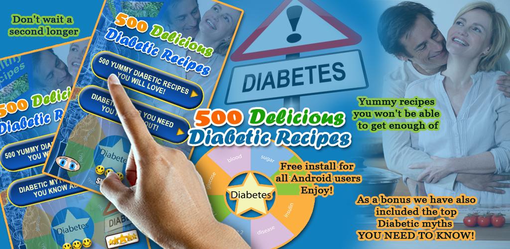 500 Delicious Diabetic Recipes Feature