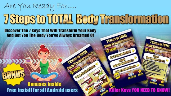 7 Steps to Body Transformation Feature