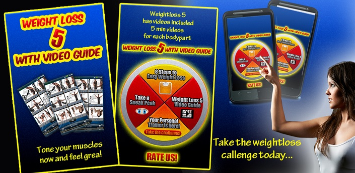 Weight Loss 5 Video Guide Feature