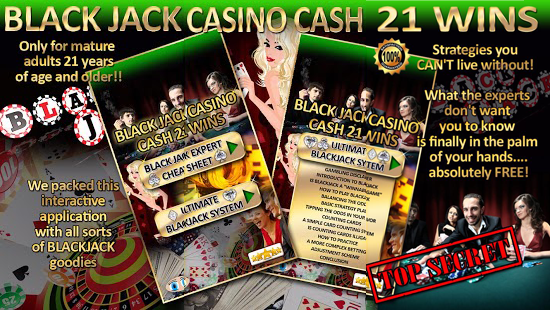 BlackJack Casino Cash 21 Wins Feature