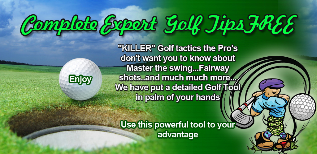 Complete Expert Golf Tips Free Feature