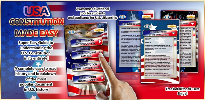 USA Constitution User Guide Feature