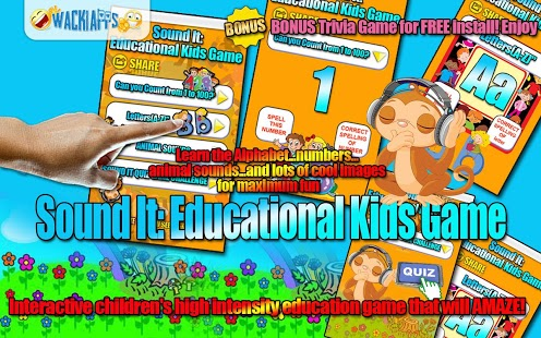 Sound It Educational Kids Game Feature