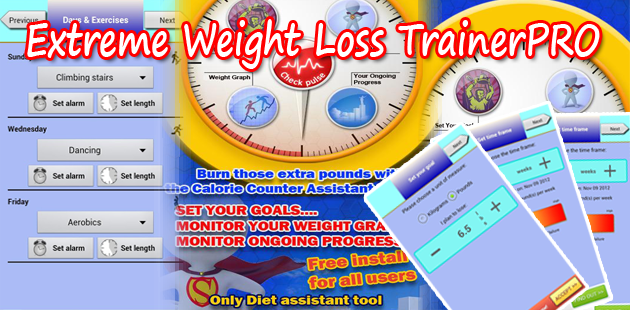 Extreme Weight Loss TrainerPRO Feature