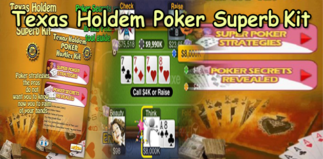 Texas Holdem Poker Superb Kits Feature