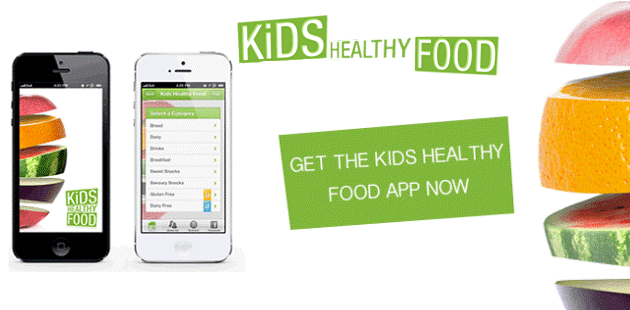 Kids Healthy Food App Feature