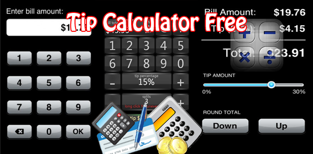 Tip Calculator Free Feature