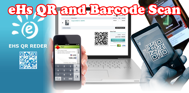 eHs QR and Barcode Scan Feature