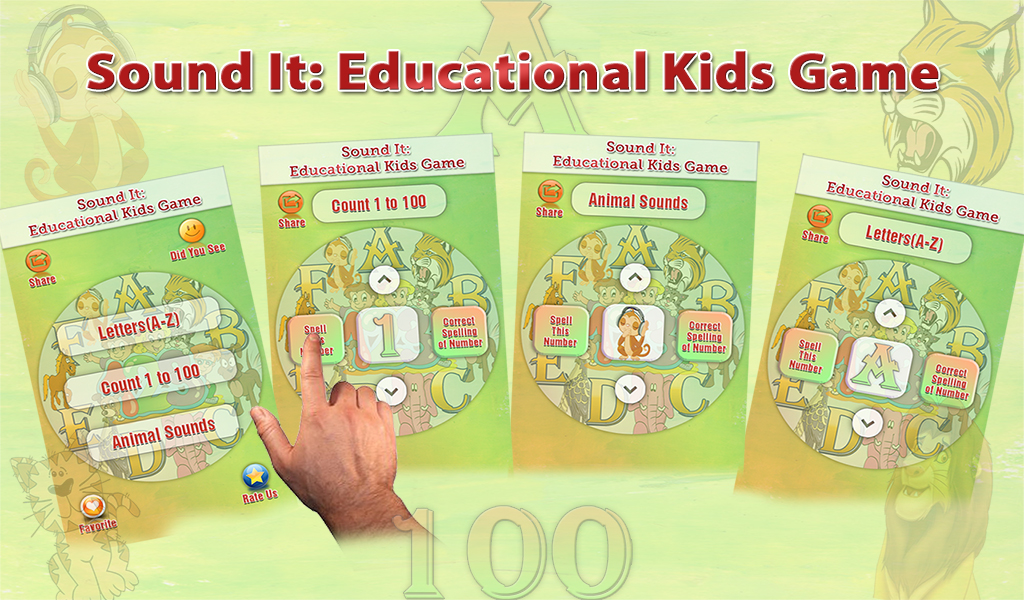 Kids Learning Game Free Feature