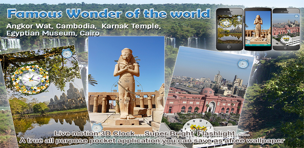 Famous Wonder Of the world Feature