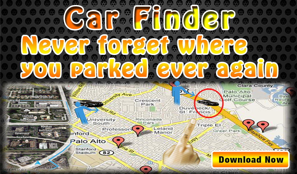 Parked Car Finder Feature